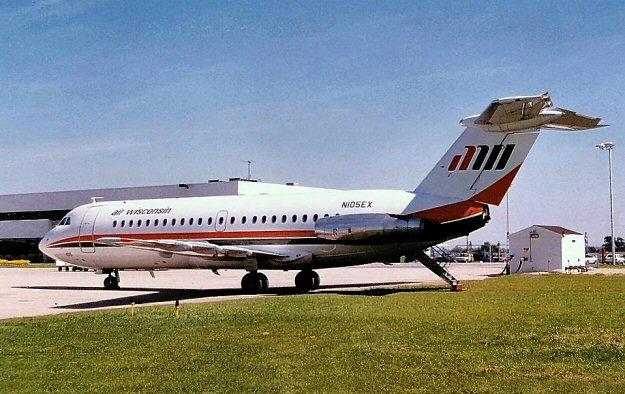 AirWisconsin BAC-111 N105EX (c/n 12)