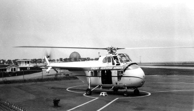Elicottero S 55 : Chicago helicopter airways sikorsky s
