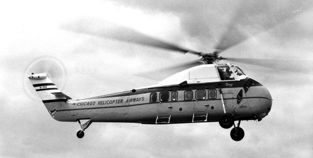 Elicottero S 58 : Chicago helicopter airways sikorsky s