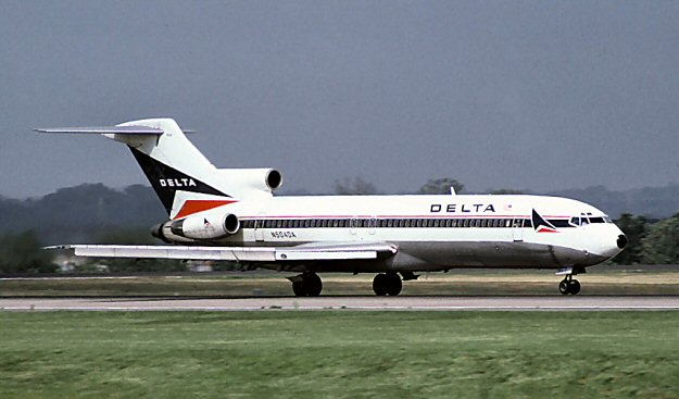 Earlyin 1973 Delta Put The First Of Their Series 200 Boeing 727s