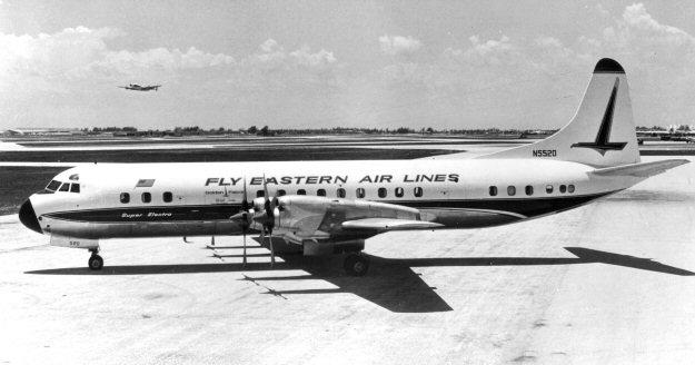 12//1976 PUB EASTERN AIR LINES LOCKHEED L-188 ELECTRA AIRLINER ORIGINAL AD