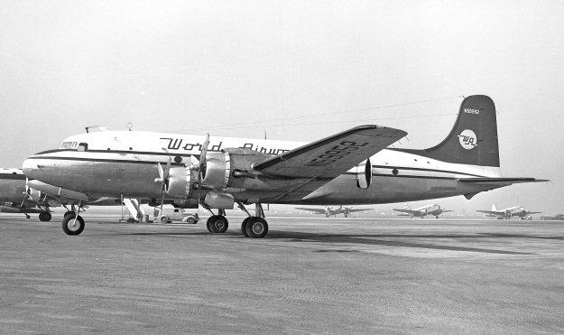 Resultado de imagen para world airways DC-4