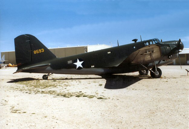 The douglas b 18 bolo was a sort of militarizeddc 2 this was one of